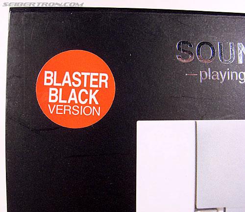 Transformers Music Label Soundwave (Blaster Black) (Image #2 of 88)