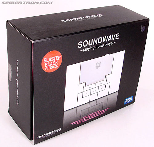 Transformers Music Label Soundwave (Blaster Black) (Image #3 of 88)