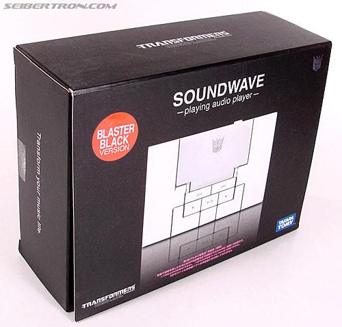 Transformers Music Label Soundwave (Blaster Black) (Image #3 of 88)