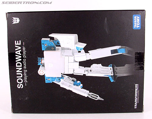 Transformers Music Label Soundwave (Blaster Black) (Image #6 of 88)
