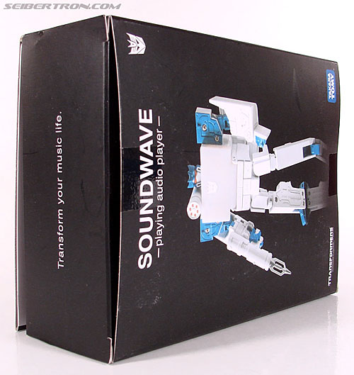 Transformers Music Label Soundwave (Blaster Black) (Image #7 of 88)
