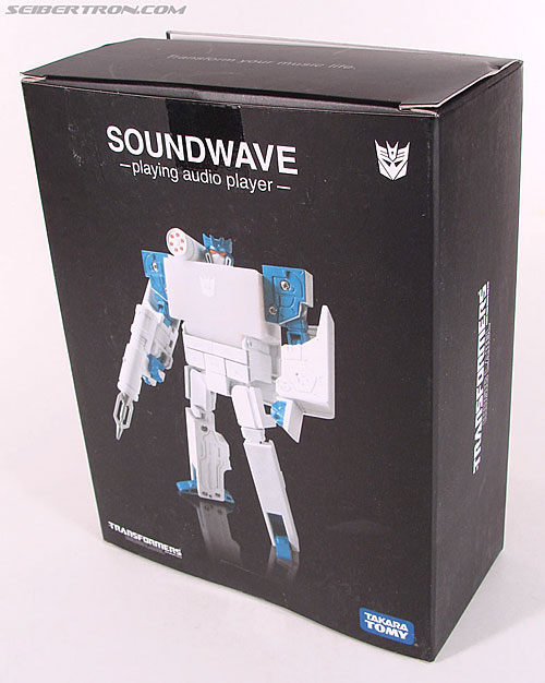 Transformers Music Label Soundwave (Blaster Black) (Image #13 of 88)