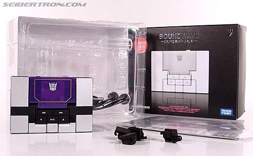 Transformers Music Label Soundwave (Blaster Black) (Image #17 of 88)