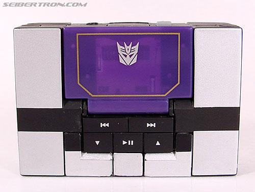 Transformers Music Label Soundwave (Blaster Black) (Image #18 of 88)