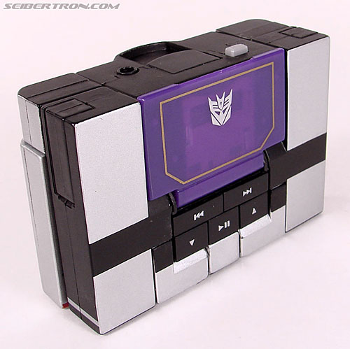 Transformers Music Label Soundwave (Blaster Black) (Image #19 of 88)