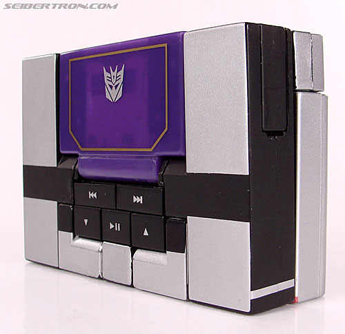 Transformers Music Label Soundwave (Blaster Black) (Image #25 of 88)