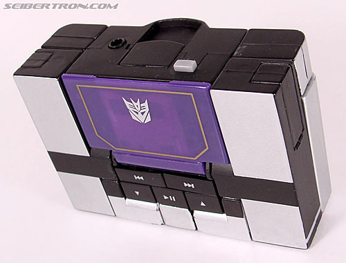 Transformers Music Label Soundwave (Blaster Black) (Image #27 of 88)
