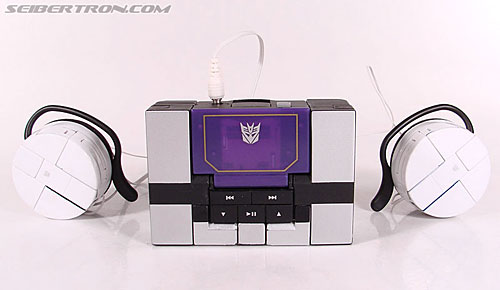 Transformers Music Label Soundwave (Blaster Black) (Image #31 of 88)