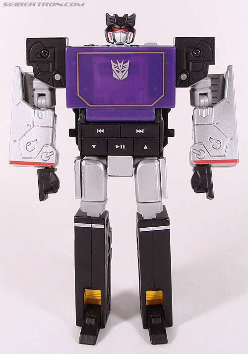 Transformers Music Label Soundwave (Blaster Black) (Image #39 of 88)