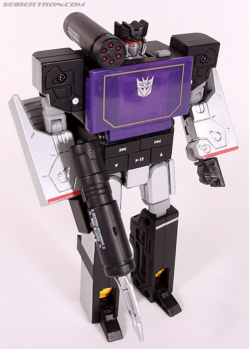 Transformers Music Label Soundwave (Blaster Black) (Image #49 of 88)