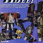 Transformers Armada Optimus & Megatron