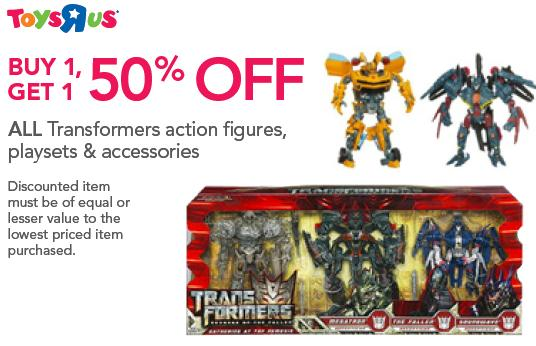 Transformers For Sale >> Toys R Us Transformers Sale Buy One Get One 50 Off