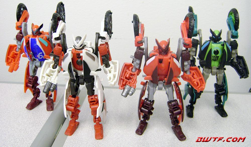 Transformers Hunt for the Decepticons Scout Class Action Figure Backfire