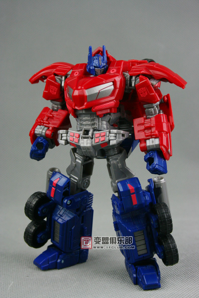 toy review of war for cybertron optimus prime transformers