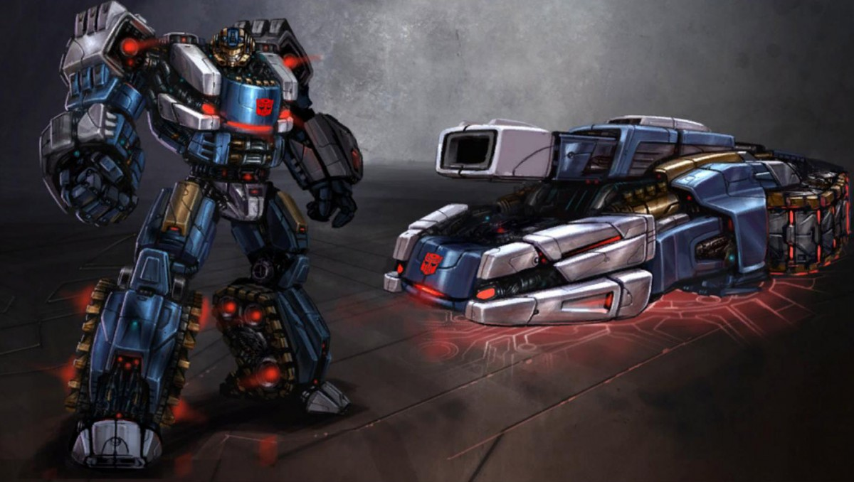 Transformers War For Cybertron Concept Art Revealed