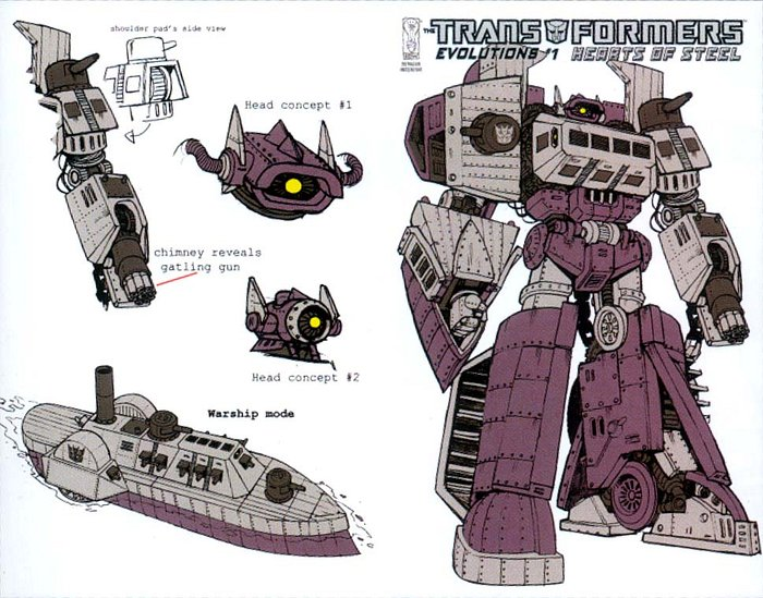 [Mastermind Creations] Produit Tiers - Knight Morpher - aka BD TF d'IDW Hearts of Steel 1292233168_Hearts_of_Steel_1ri