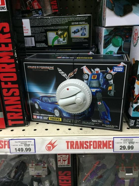Transformers News: Takara Tomy Transformers Masterpiece MP-25 Tracks Sighted at Australian Retail