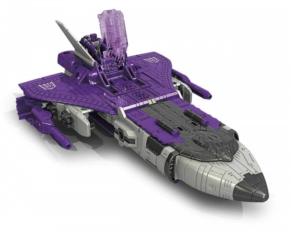 Transformers News: Official Images Titans Returns Astrotrain and Ravage
