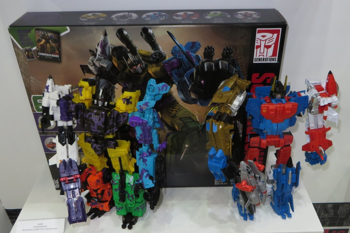 Transformers News: 2016 Toyfair Australia: New Pictures of Transformers Robots in Disguise and Titans Return