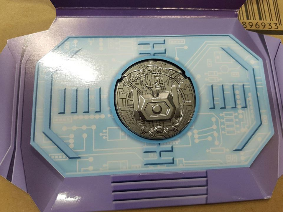 Transformers News: Takara Tomy Masterpiece Shockwave Collector Coin Images