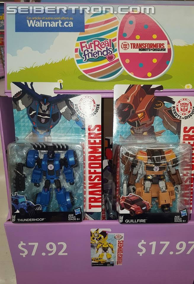 Transformers News: Transformers Robots in Disguise Blizzard Drift/Thunderhoof/Quillfire wave found in North America