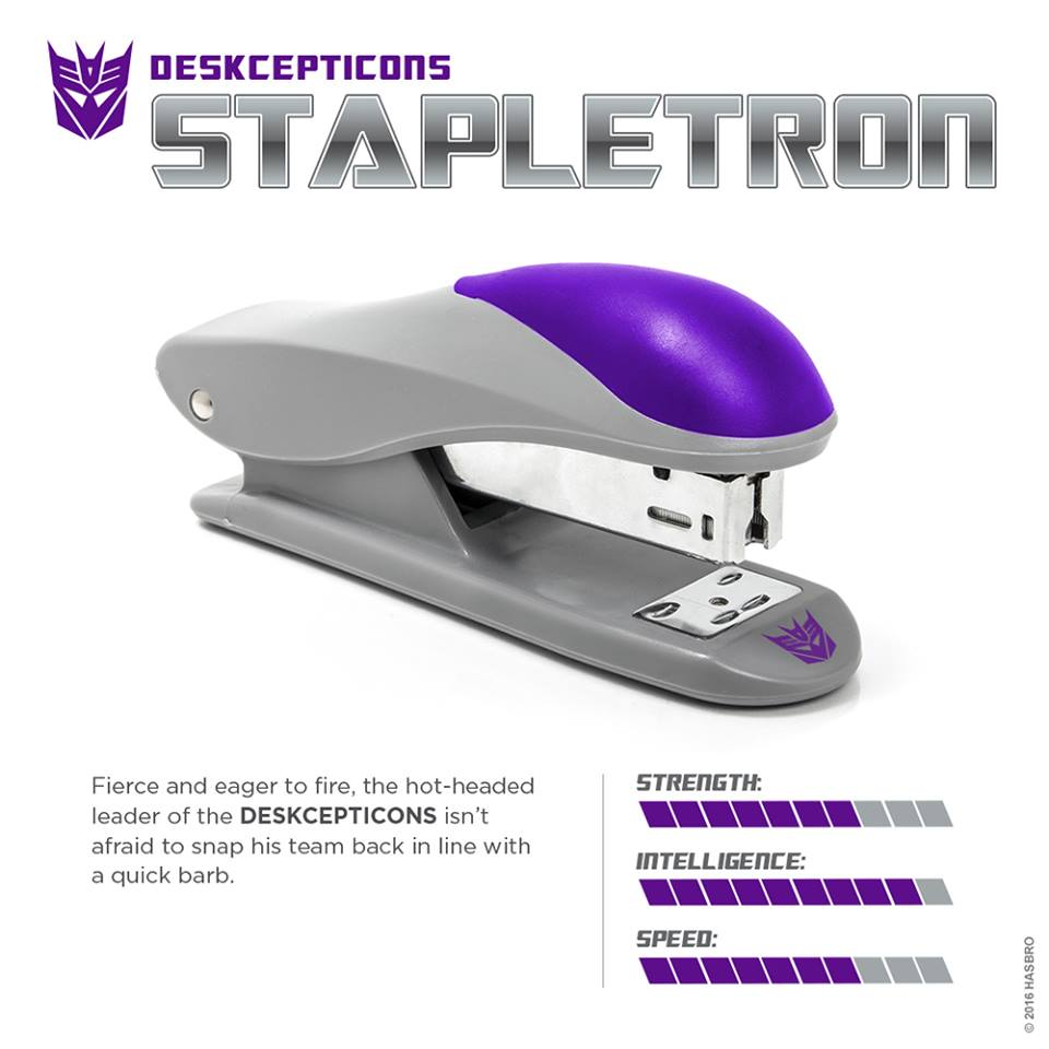 Transformers News: Stapletron Revealed by Hasbro on April 1st