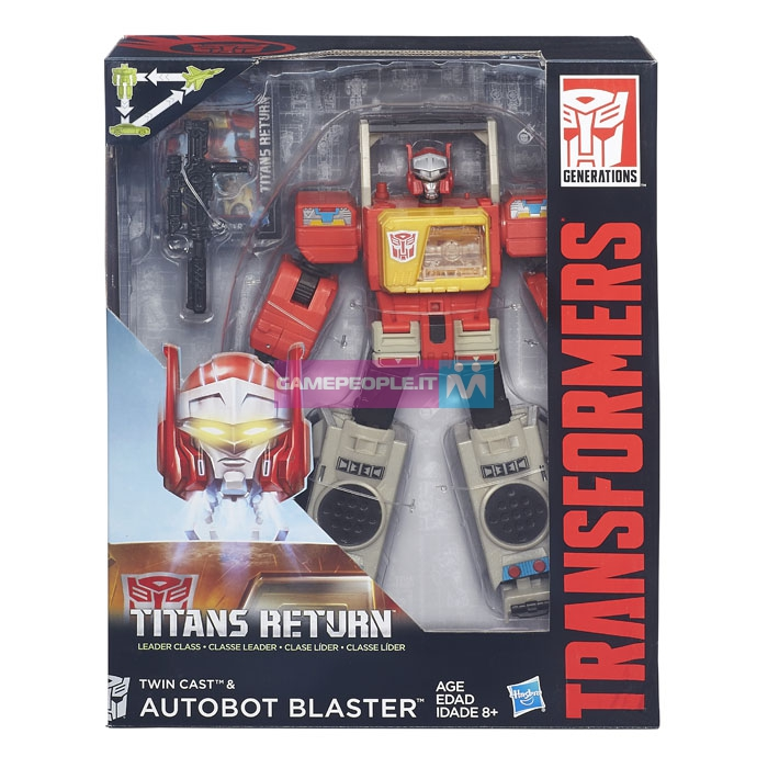 Transformers News: Stock Package Images - Transformers Titans Return Leaders Powermaster Prime and Blaster