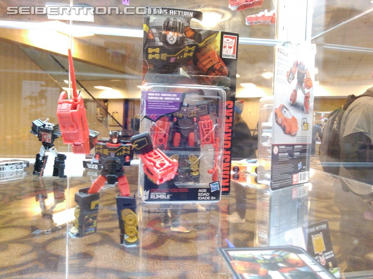Transformers News: #Botcon2016 Galleries: Hasbro Floor Display - Titan wars, Robots in Disguise and More