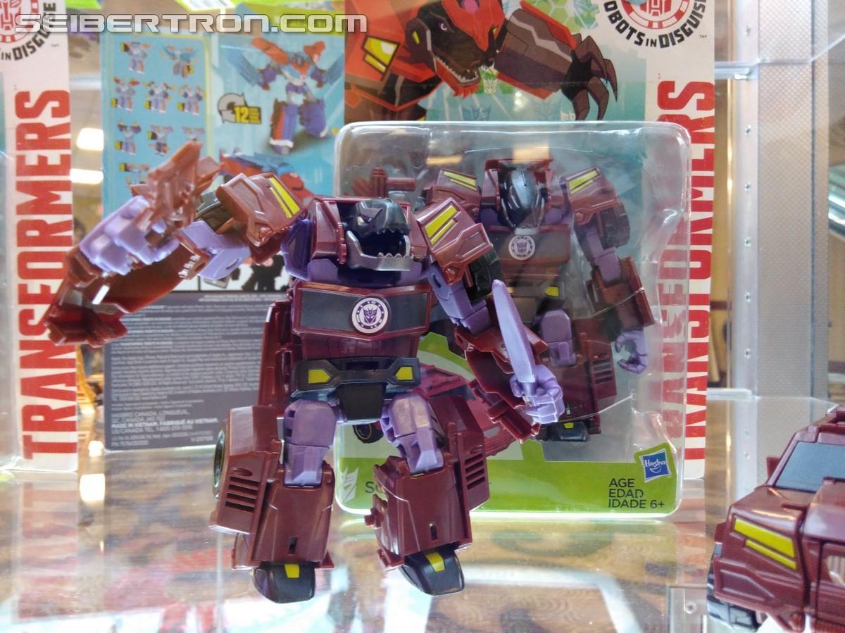 Transformers News: #Botcon2016 Galleries: Hasbro Floor Display - Titan wars, Robots in Disguise and More