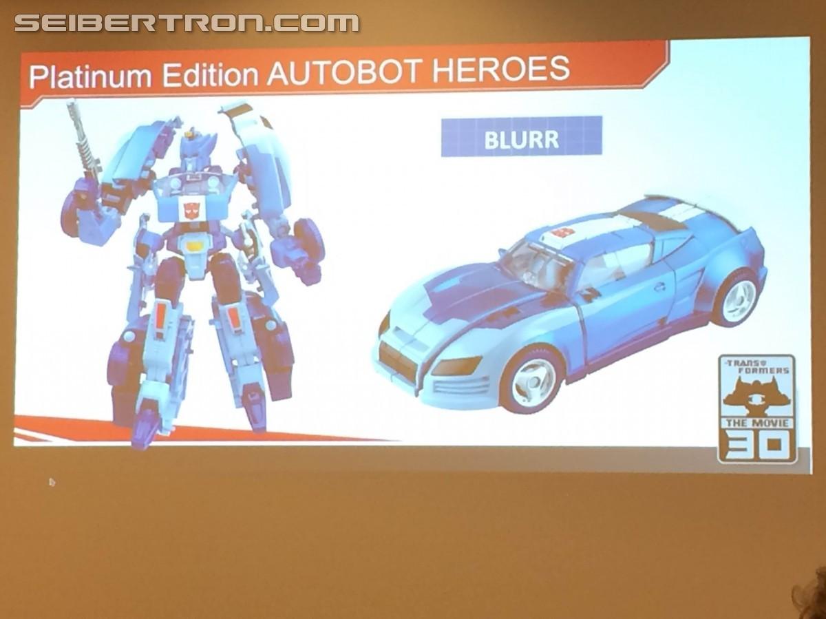 Transformers News: #Botcon2016 Hasbro Brand Panel Coverage - Transformers Platinum Edition Autobot Heroes