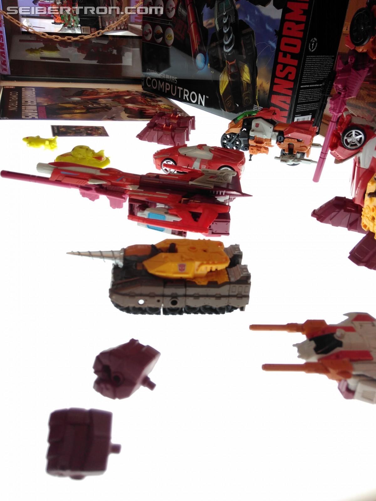 Transformers News: #Botcon2016 Galleries: Hasbro Floor Display - Wave 2 Titans Return, Computron +Technobots, Liokaiser