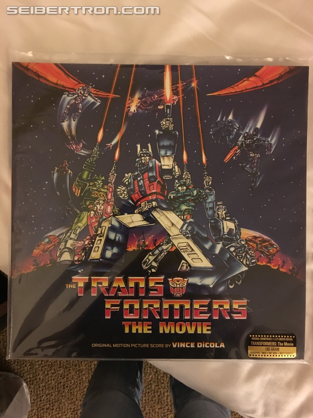 Transformers News: #Botcon2016 Limited Transformers The Movie CDs available at Concert