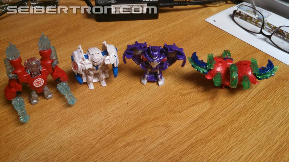 Transformers News: Transformers Robots in Disguise Minicon 4-Pack #2 In-Hand Images and Review