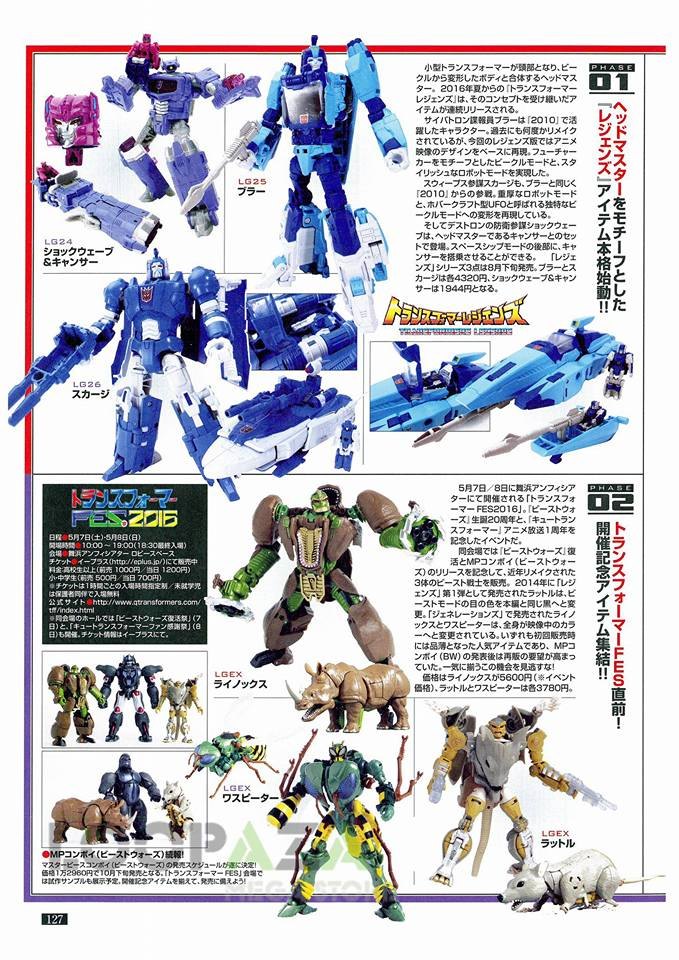 Transformers News New Figure Kings 219 Magazine Scans