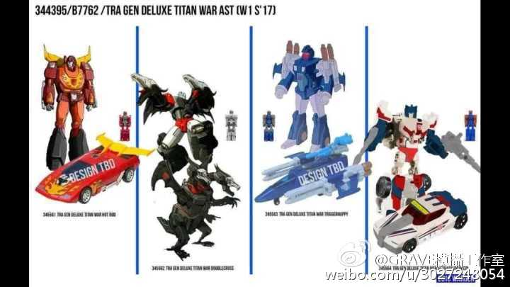 Transformers News: Titans Return Leaks: Sixshot, Megatron, Optimus, Getaway, Triggerhappy, Doublecross, Hot Rod + more