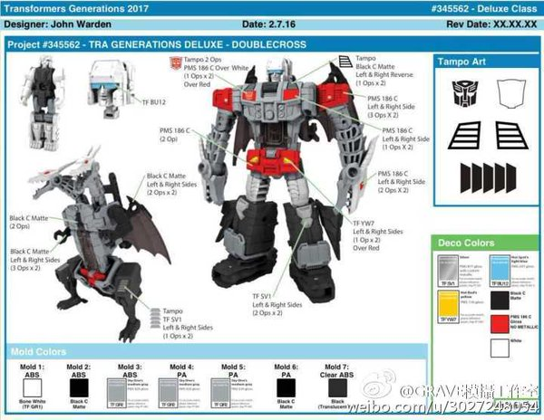 New Image Of Titans Return Deluxe Class Doublecross Revealed By Toys