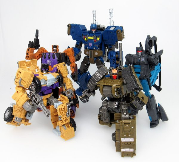 Transformers News: New Takara Transformers Unite Warriors Combaticons Pic