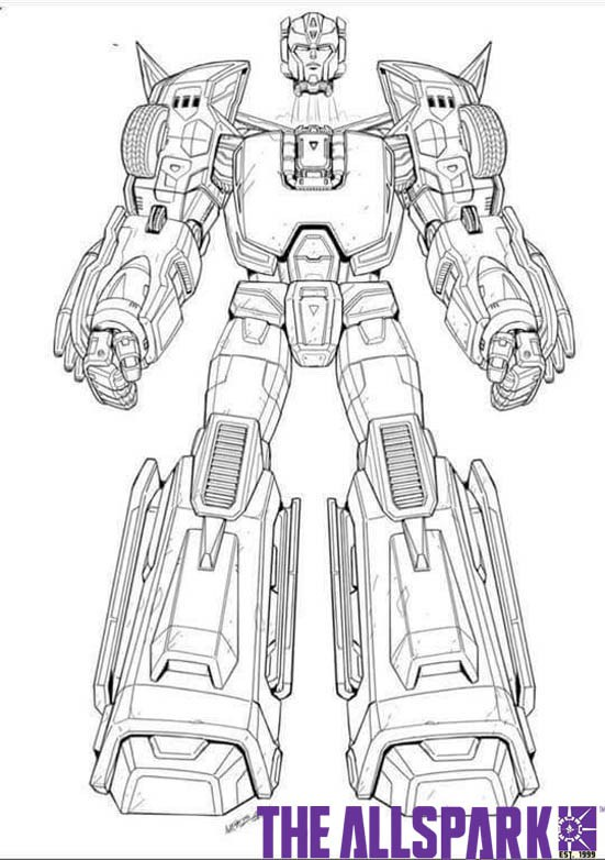 Transformers News: Transformers Titans Return - Leaked HotRod Design Specs And Character Art