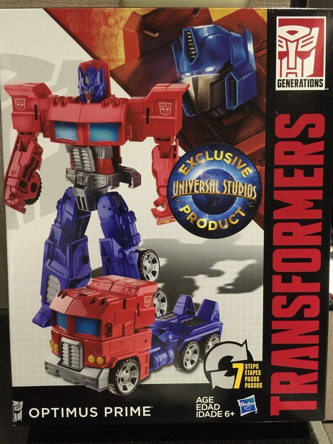 Transformers News: Transformers Cyber Battalion Optimus Prime & Starcream See Universal Studios Exclusive Release