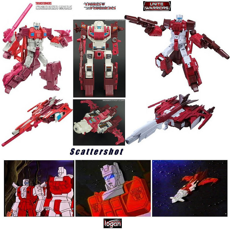 Transformers News: Comparisons Between Transformers Combiner Wars and Unite Warriors Computron with Animation and Comic