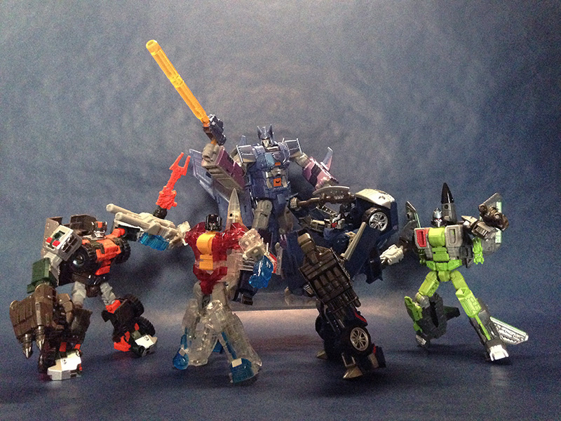 Transformers News: More In-Hand Images - Takara Transformers Unite Warriors UW06 Grand Galvatron