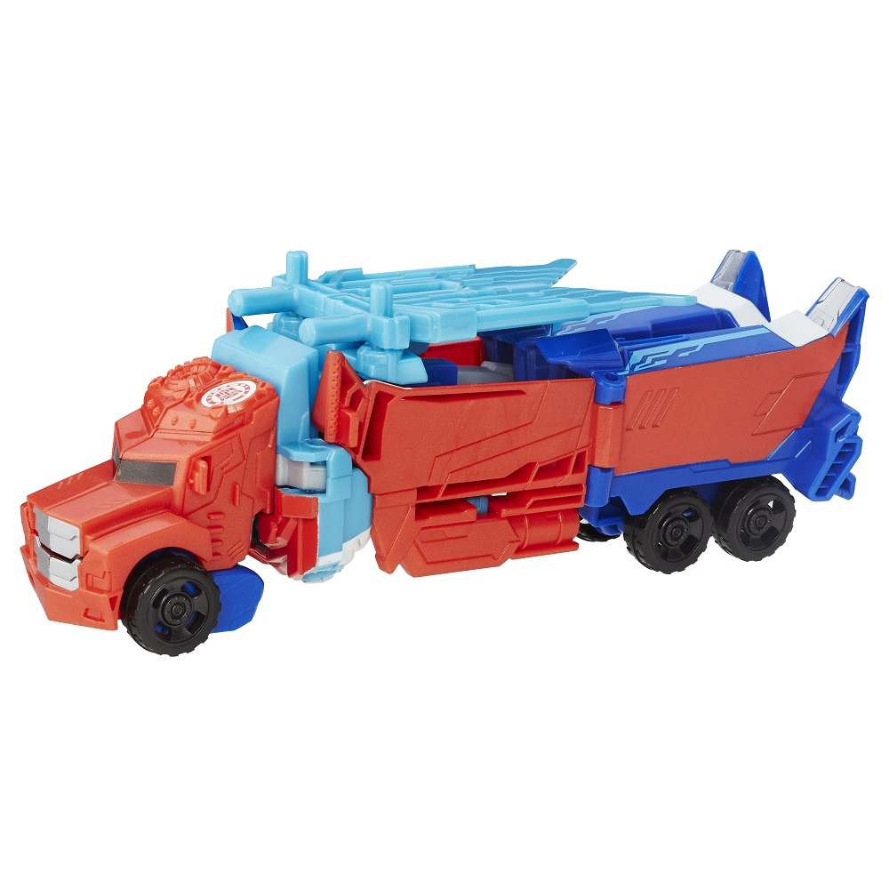 Transformers News: New Stock Images of Transformers Robots in Disguise Power Surge Optimus Prime and Scatterspike