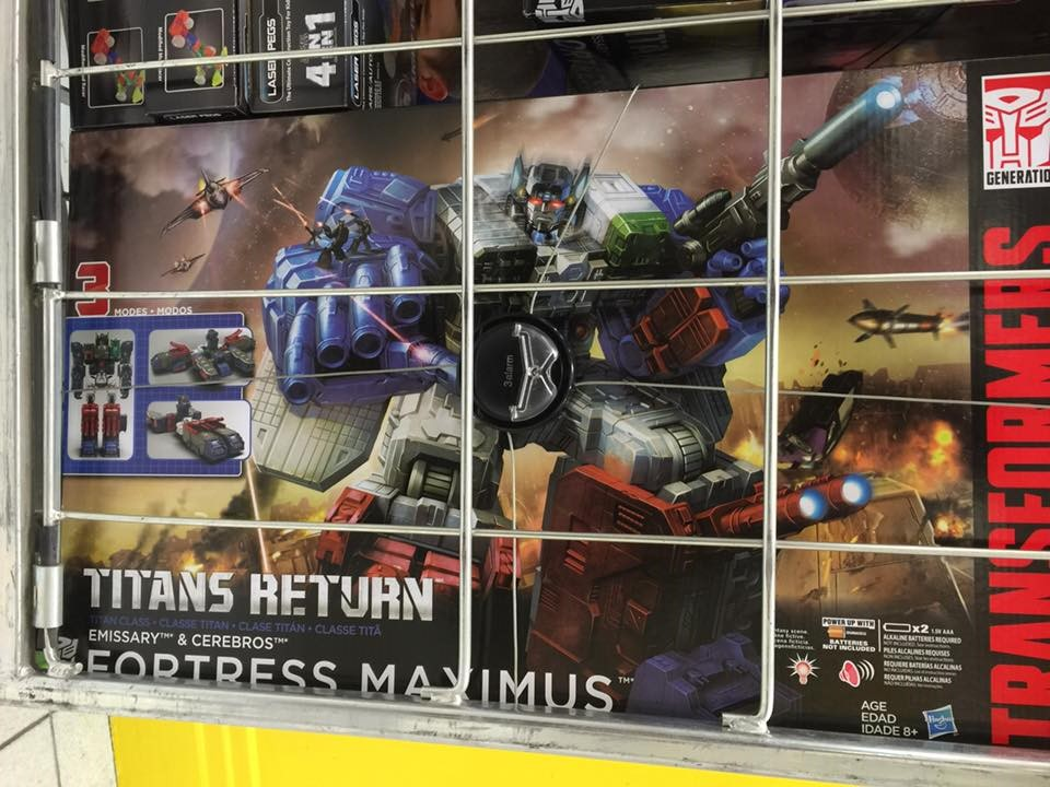 Transformers News: Transformers Titans Return Fortress Maximus Sighted at Australian Retail
