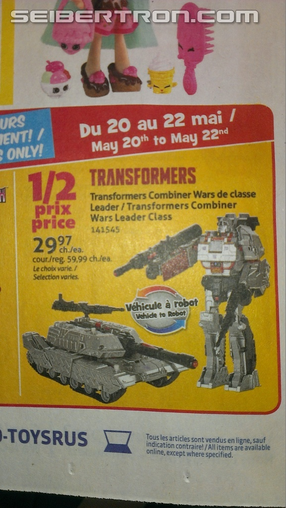 Transformers News: Deal of the Decade at Toysrus Canada for Transformers Generations Figures and Brand Wide Sale