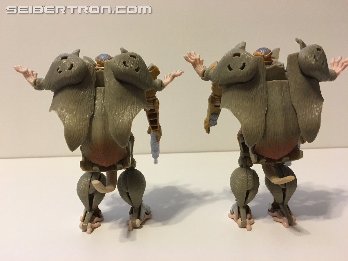 Transformers News: TakaraTomy Transformers Legends LG-EX: Rhinox, Rattrap, & Waspinator Review
