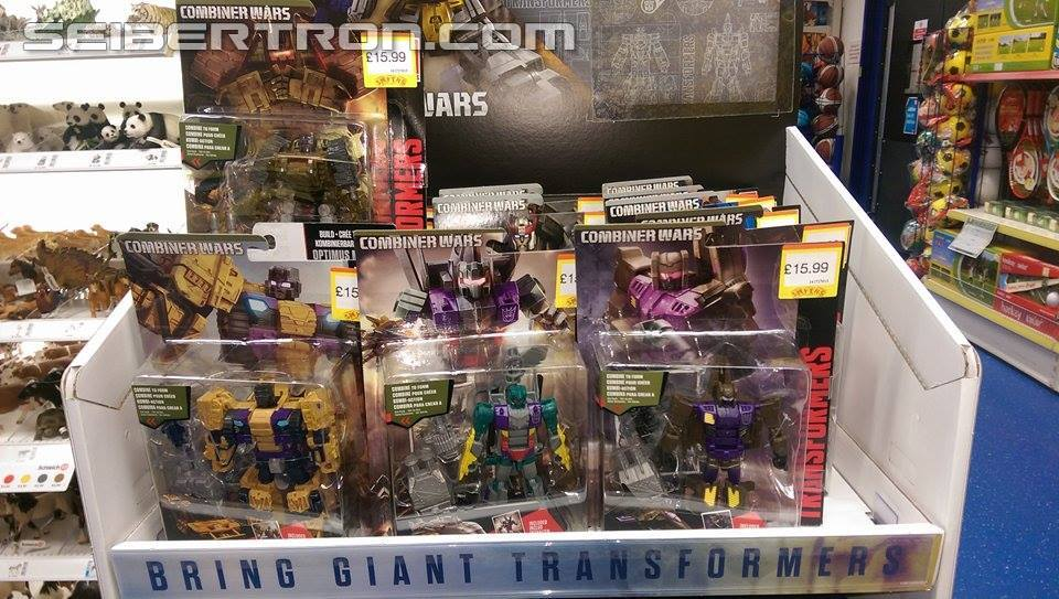 Transformers News: Transformers Generations Combiner Wars Combaticons Found in the UK at Smyth's