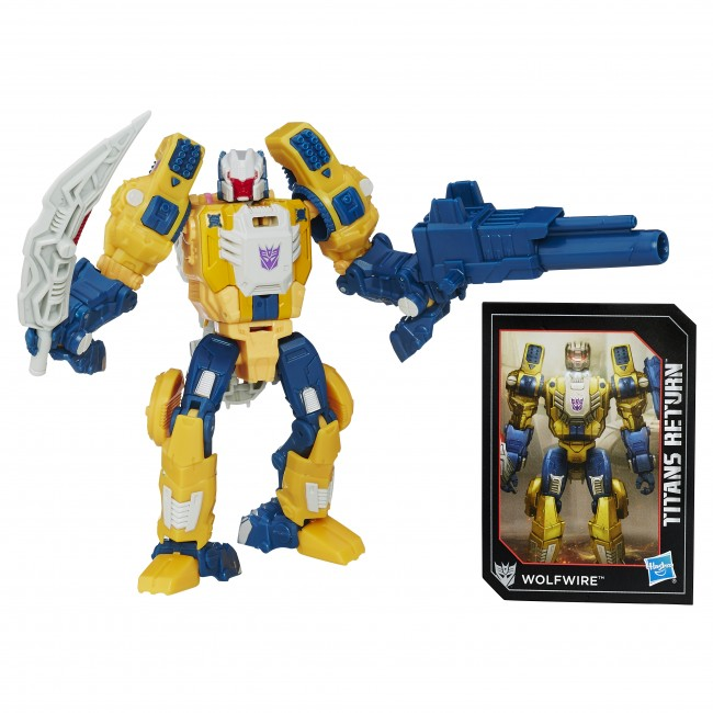 Transformers News: Stock Images - Transformers Titans Return Deluxes Wave 1: Mindwipe, Highbrow, Wolfwire, Chromedome