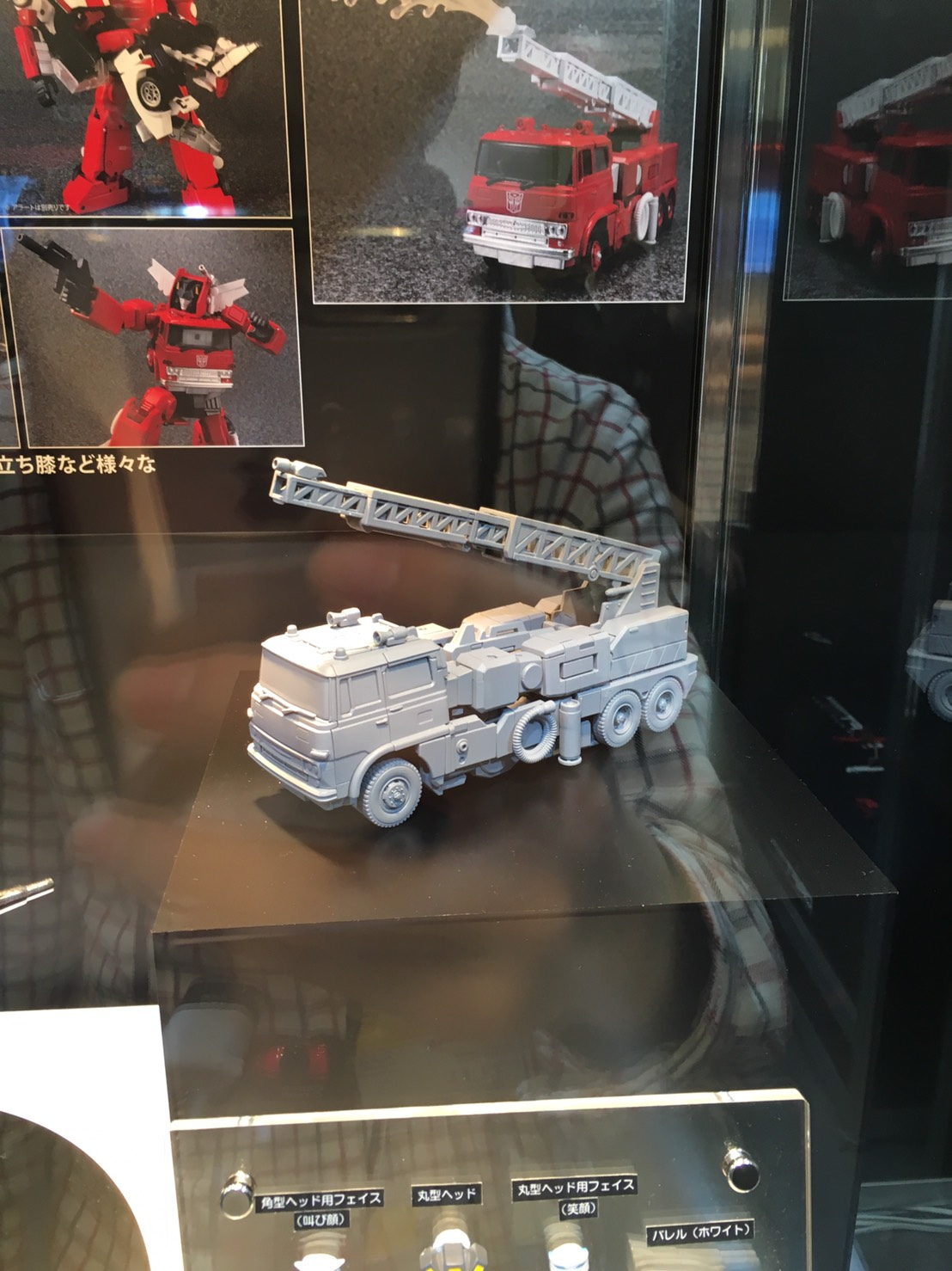 Transformers News: Masterpiece Inferno Colored Prototype Revealed at Tokyo Toy Show