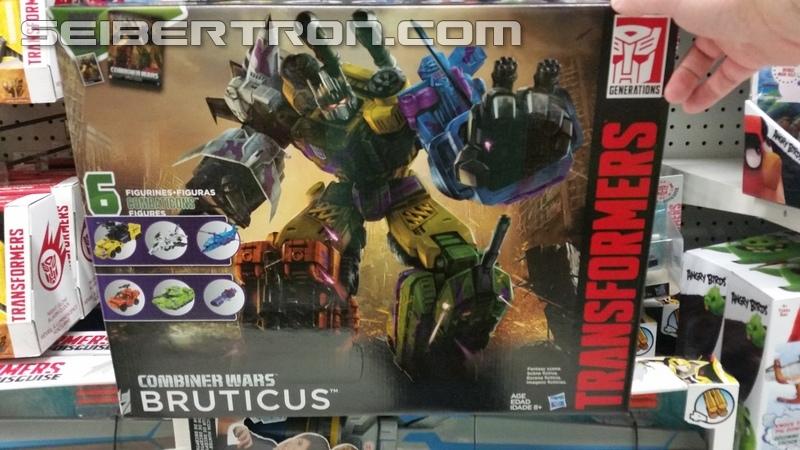 Transformers News: Transformers Combiner Wars G2 Bruticus Hitting North American Retail