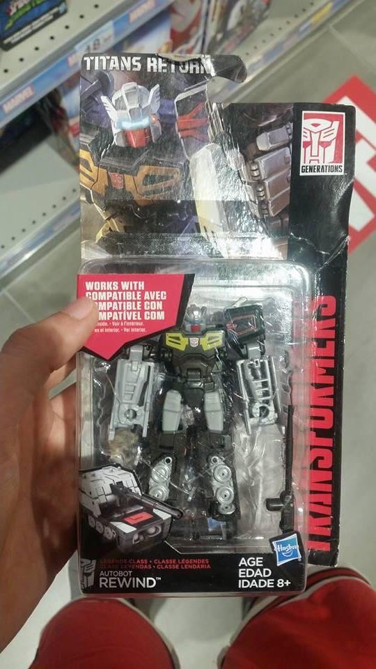 Transformers News: Transformers Titans Return Legends Rewind Sighted at Italian Retail